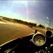 Caméra embarquée Honda RC 171 frico Réplica Coupe moto légende 2011 série E Dijon Prenois