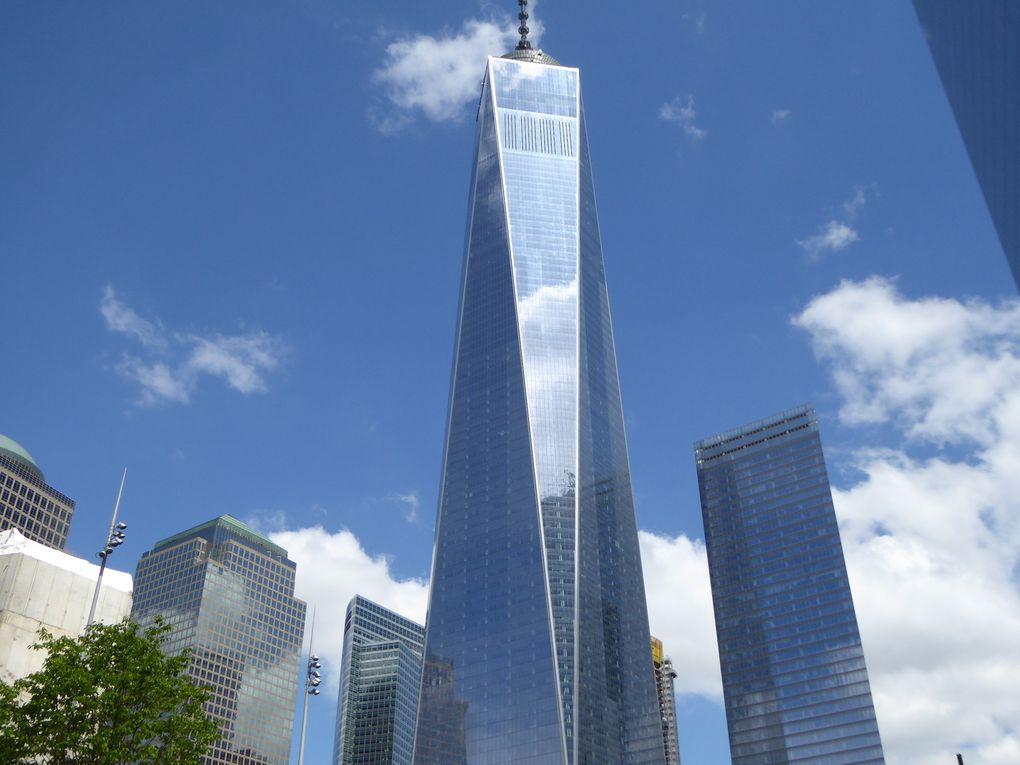 New-York City, 9/11 Memorial - Mai 2017.