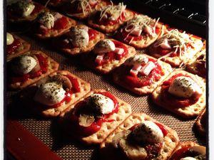 Mes petits Tucs pizza... Pour un apéro gourmand !