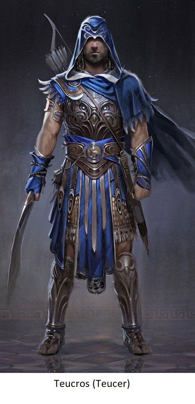 L'archer Teucros.