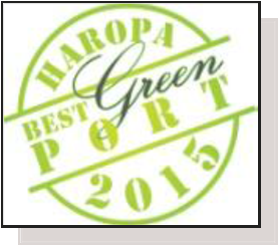 "HAROPA élu ""Best Green Port in the world"""