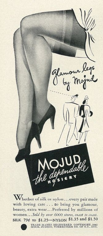 MOJUD ADs 1939 to 1952