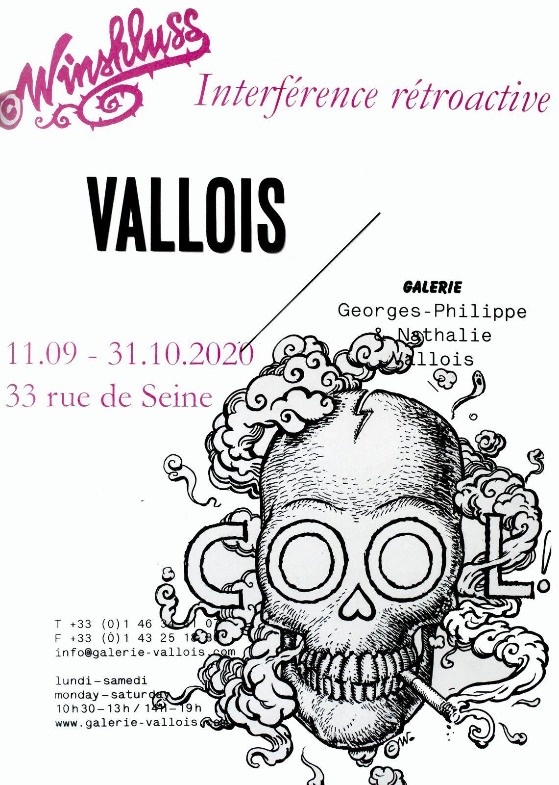 WINSHLUSS - Courtesy de l'artiste et la Galerie Georges-Philippe et Nathalie Vallois © Photo Éric Simon