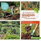 Livre: Je cutive en lasagnes partout et toute l'année - sortie le 13mars - Jard'infos