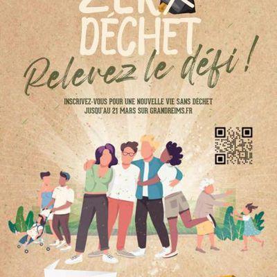 Le défi Zéro Déchet de la ville de Reims