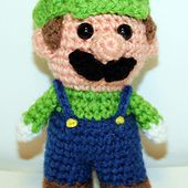 Mini Green Gamer Friend pattern by Mary Smith