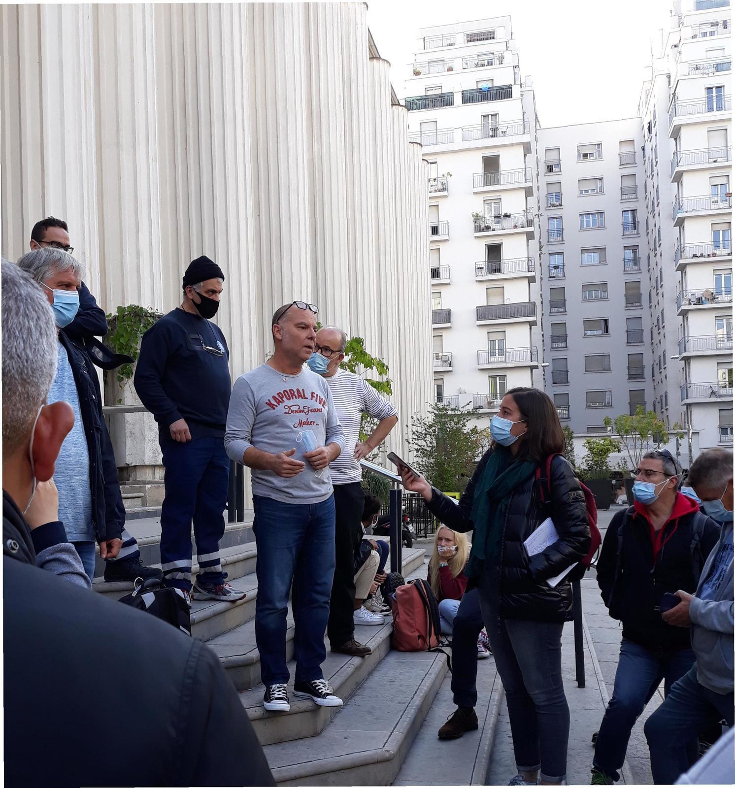 Grid Villeurbanne : lundi 23 novembre, l'action se durçit face au refus de General Electric de négocier sérieusement !