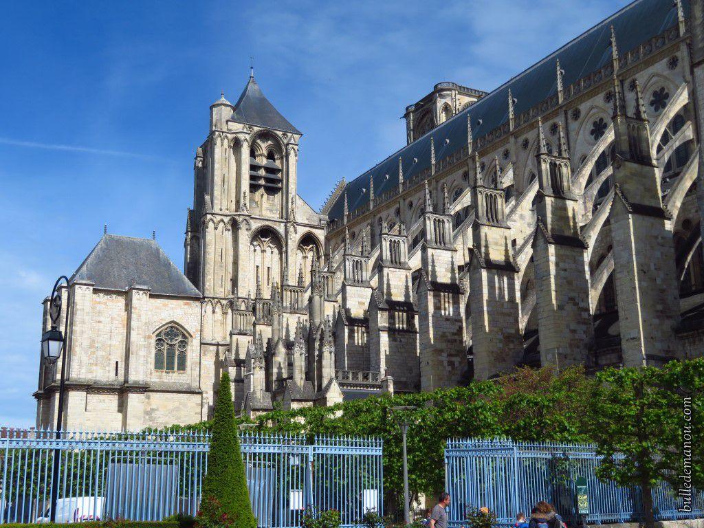 Quelques vues extérieures de la Cathédrale Saint-Etienne de Bourges