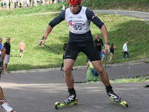 Biathlon summer tour à Arçon.