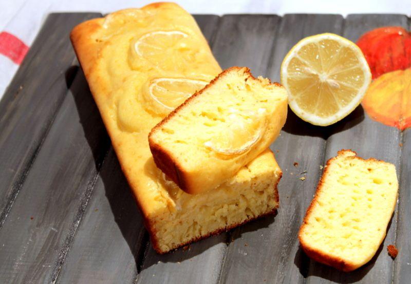 gâteau allégé au citron