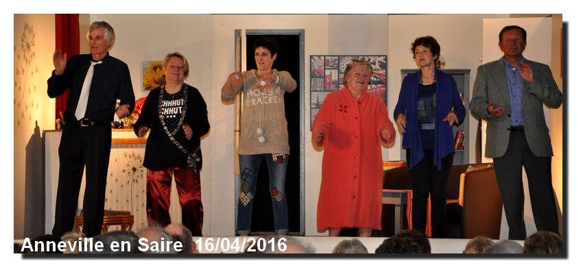 Anneville en Saire renoue avec le théâtre