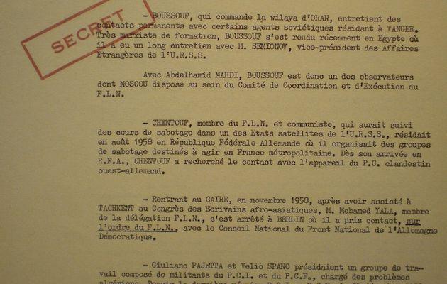 L'aide communiste à la rébellion algérienne 21/25