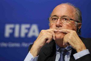 Reuters - Soccer: Red card for FIFA officials