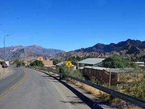 Tupiza - Villazon (Bolivie en camping-car)