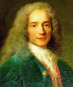 L'initiation de Voltaire.