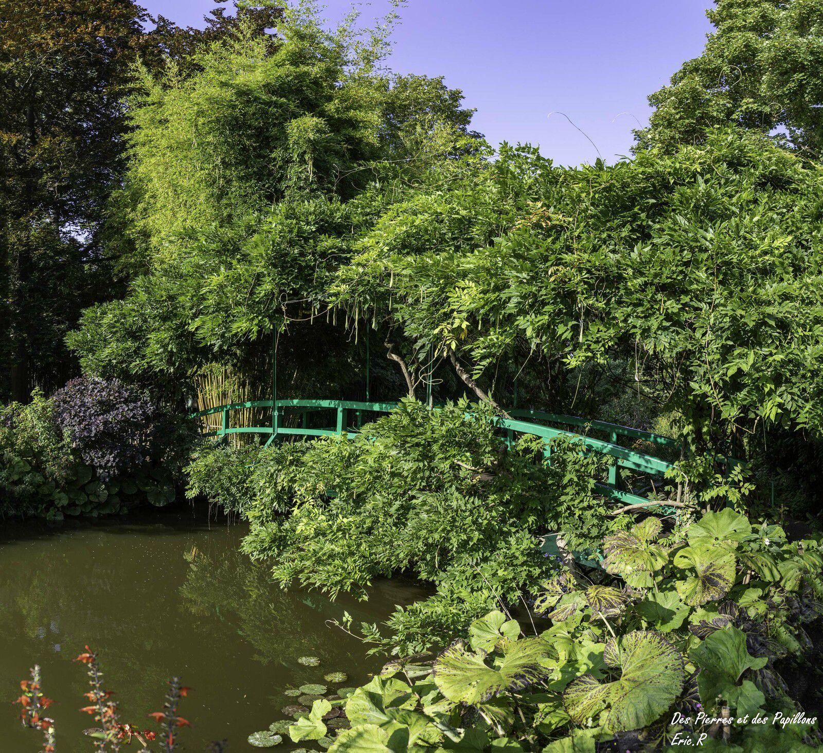 Le pont japonais.