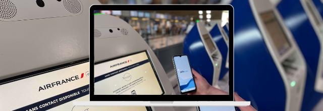 Air France et le Groupe ADP étendent le test de la solution ICC AOKpass aux vols de/vers Paris-Charles de Gaulle, San Francisco et Los Angeles