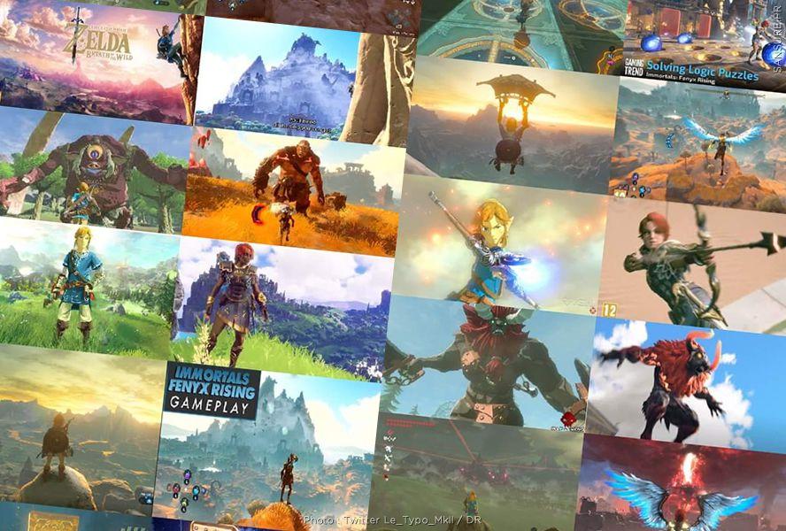 Le jeu Immortals Fenyx Rising est-il une copie de Zelda ? (Vidéo) #Immortals Fenyx Rising #Zelda