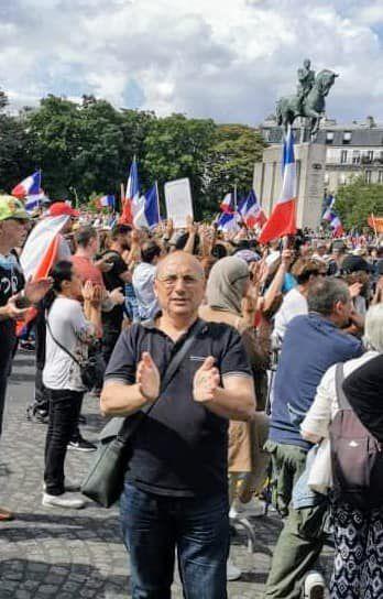Succès des manifestations du samedi 24 juillet contre le pass sanitaire
