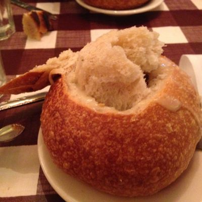 Clam Chowder in San Francisco