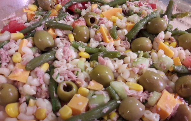 Salade variée au thon....