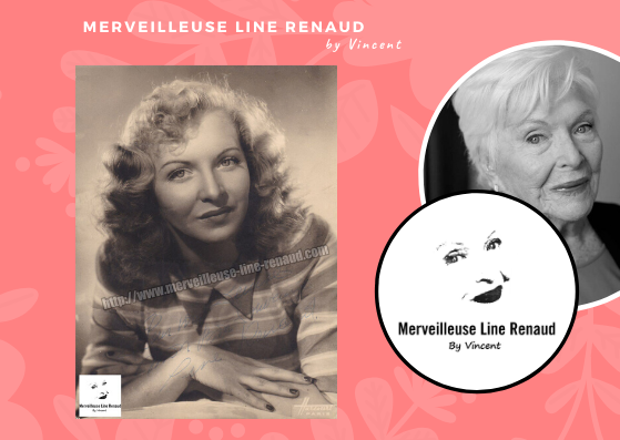 PHOTOS: Line Renaud photo Harcourt Paris 1947