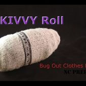 SKIVVY Roll - Bug Out Bag Clothes Hack