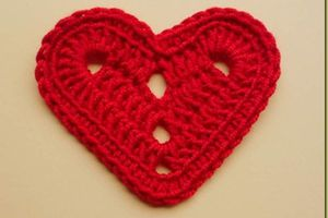 Patrons & modèles gratuits des coeurs au crochet