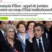 """""""Assassinat"""", """"coup d'Etat"""" : comment la cathosphère tente de sauver Fillon"""