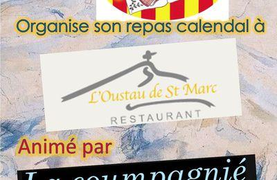 Le 11 décembre 2021 Notre repas Calendal
