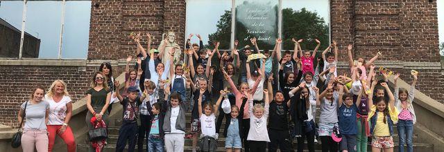 Visite du 22 Mai 2018 - 43 élèves de CM1 Ecole Pasteur de Montigny en Ostrevent et Professeurs