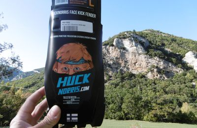Test - Mousses anti-crevaison Huck Norris.