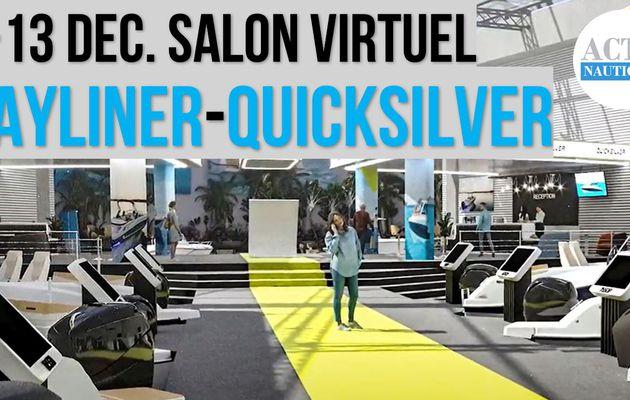 5-13 Dec. 2020 - Quicksilver et Bayliner France organisent leur salon nautique virtuel