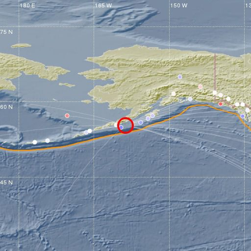 Séisme de magnitude 7,8 au large de l'Alaska