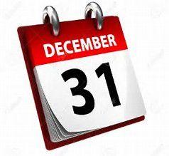 31 décembre - l'heure des bilans (ou pas)