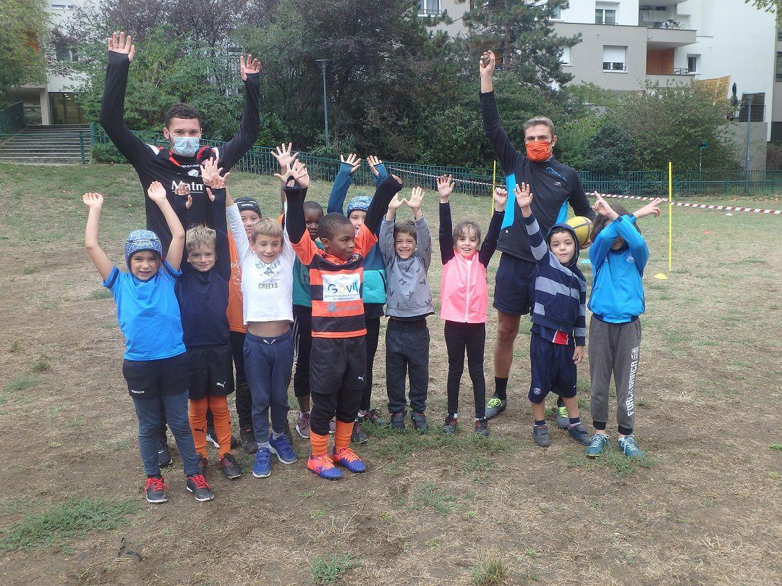 Record de participation au dernier entraînement des jeunes tigres
