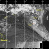 L'île de Tubuai dévastée par le cyclone Oli, art 093 - SKREO-Dz