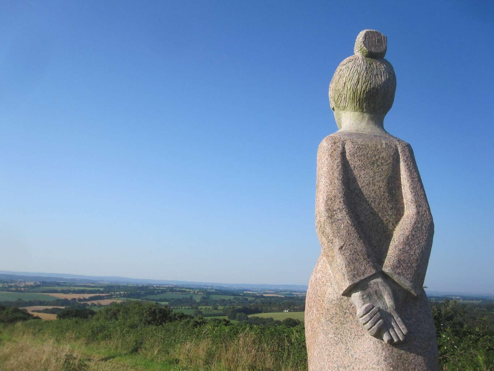 La Vallée des Saints ou L'Ile de Pâques en Bretagne