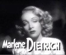 06 mai 1992: Marlène Dietrich