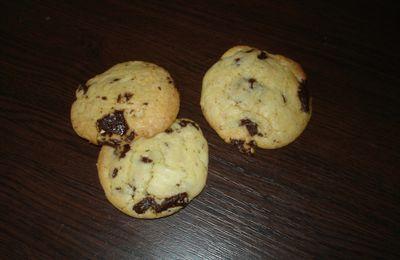 Cookies aux pépites de chocolat noir spéculoos