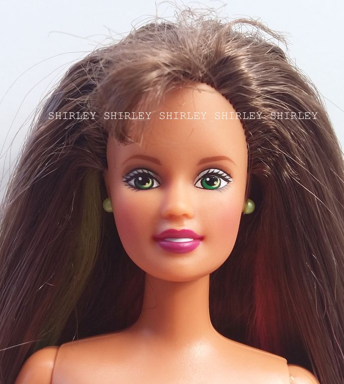 """HAPPENIN HAIR"" TERESA DOLL 1998 MATTEL #28884"