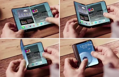 Samsung's 'World's First' Foldable Smartphone Could Cost Double The iPhone X