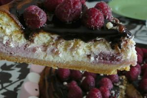cheese-cake choco-framboises so girly