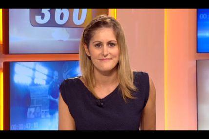 [2012 09 23] CAROLINE BAUER - BFM TV - WEEK-END 360 'Sports' @21H47