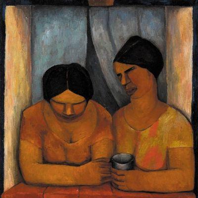 Rufino Tamayo - Dos Mujeres en la Ventana -1925
