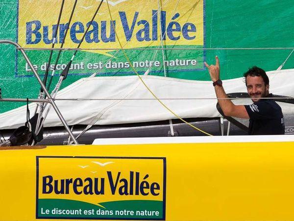 """Route du Rhum - Louis Burton, 5ème des Imoca : """"Objectif atteint !"""""""