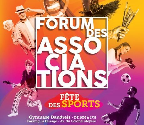 Forum des associations à VENCE le 14 septembre