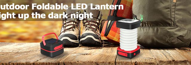 Test: lampe solaire nomade et pliable Globalink Outdoor Lantern