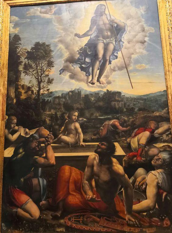 Giovanni Antonio Bazzi detto il Sodoma, Resurrezione di Cristo, 1534