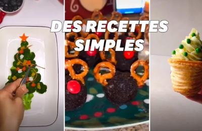 Noël  : 5 recettes TikTok faciles à faire
